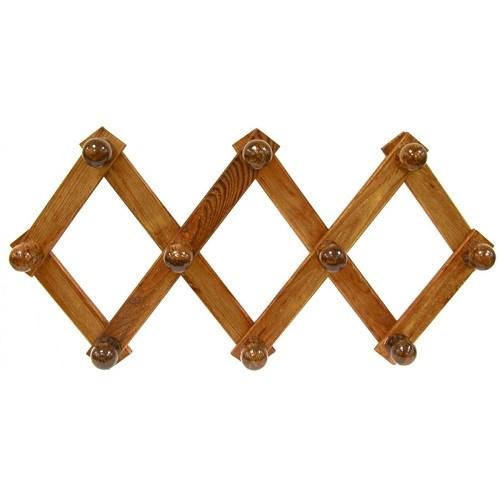 Appendiabiti da parete in legno