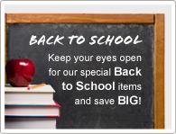 Tieni gli occhi aperti per il nostro speciale Torna a Scuola e salva tantissimo!
